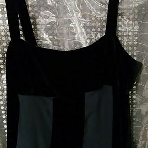 Emporio Armani Dresses - Emporio Armani black velvet & silk evening dress 6